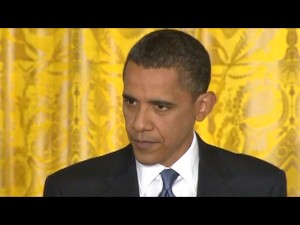 President Obama answers questions at his press conference, Thursday, May 27, 2010.