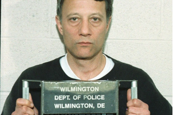 This is a police handout photo of Thomas Capano, taken in Wilmington Del., Wednesday, Nov. 12, 1997. Capano was convicted of killing Anne Marie Fahey. (AP Photo/Wilmington Police, File)