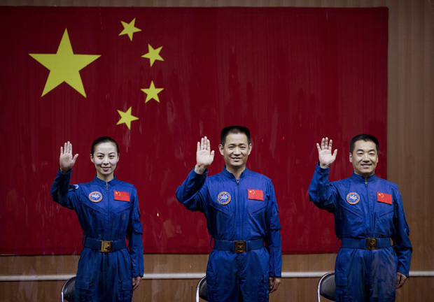 China in space: Shenzhou10