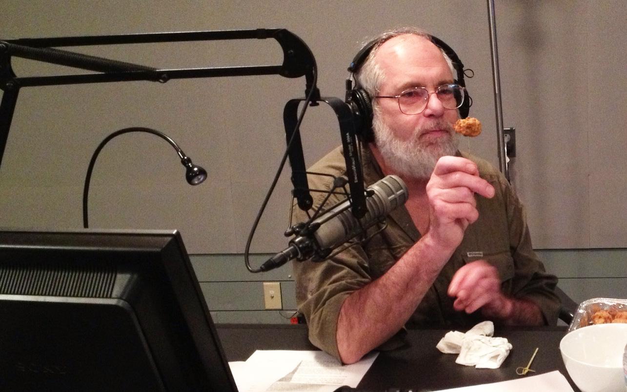 Mike McGrath eats bugs!