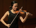 Eunice Kim on violin