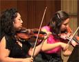 Members of the Aizuri Quartet