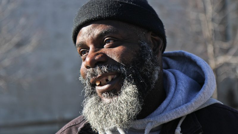 Vincent Kennedy is a neighborhood activity in the Swampoodle section of North Philadelphia. (Kimberly Paynter/WHYY)