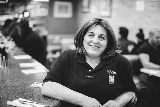 Eleni has been the late night manager at Little Pete's for five years. She says,