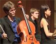 Zachary Mowitz, cello; Kate Liu, piano