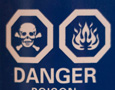 Danger message