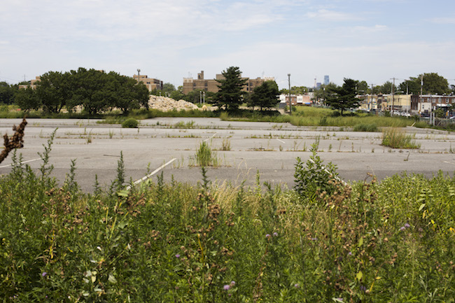 The site of the former GE West Philadelphia Works plant