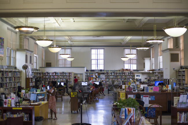 The Job Readiness Center in Paschalville library