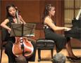 Sydney Lee, cello; Linzi Pan, piano