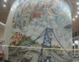 a mural of Philadelphia
