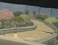 tile art depicting the Philadelphia skyline