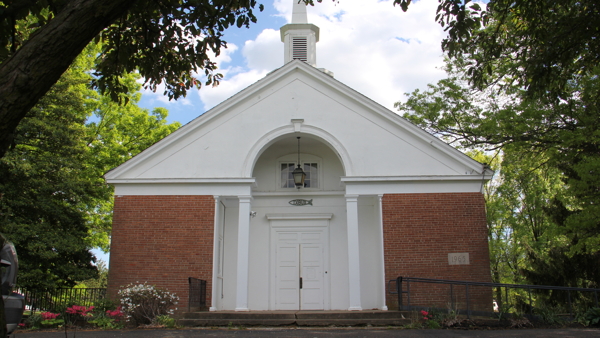 A church in Southampton houses the studio of Radio Philadelphia.