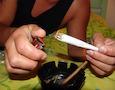 a marijuana joint