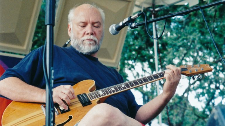 Guitarist John Fahey pioneered the American primitive guitar style. (Photo provided by Melissa Stephenson)