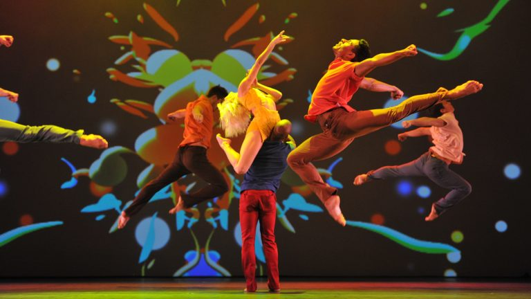 Rasta Thomas' Bad Boys of Dance bring their high-energy mix of ballet, contemporary, and hip-hop to Annenberg Center for the Arts, February 20-22. (Photo by Oliver Fantitisch)