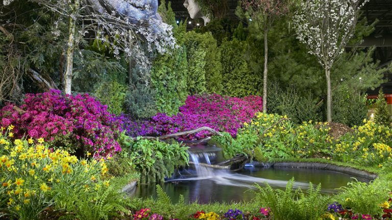 """The Philadelphia Flower Show returns to the Pennsylvania Convention Center March 1-9 with the theme of """"ARTiculture."""" (Photo courtesy of The Philadelphia Flower Show)"""