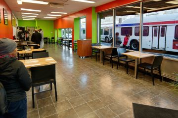The inside of Happy Bread Cafe on the corner of Germantown and Chelten avenues. (Bas Slabbers/for NewsWorks)