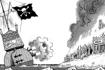 Pulitzer Prize-winning cartoonist Tony Auth's exhibition