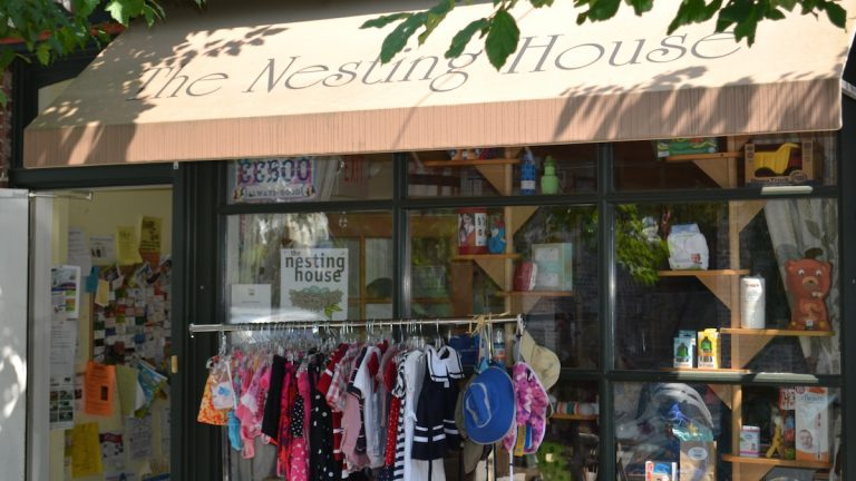 The Nesting House is located on Carpenter Lane in Mt. Airy Village. (Michael Buozis/for NewsWorks)