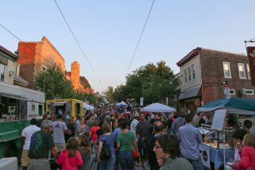 This year Mt.Airy Street Fare drew in a record-breaking crowd of approximately 14,000 visitors! (Natavan Werbock/for NewsWorks)