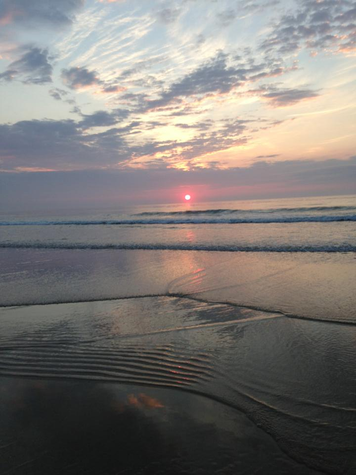 Today's sunrise. (Photo: Donna Susan)