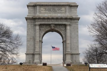 The National Memorial Arch at Valley Forge National Historical Park. (Emma Lee/File photo for NewsWorks)