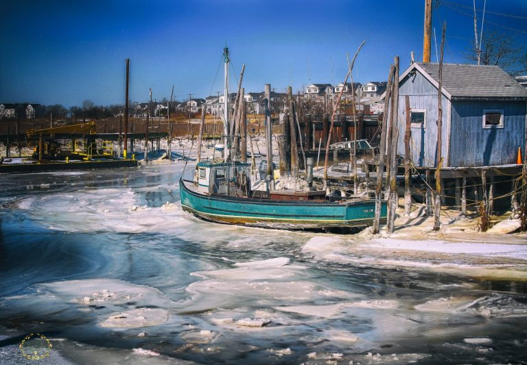 The Belford docks on Feb. 20, 2015 by JSHN contributor Tammy Kelly‎.