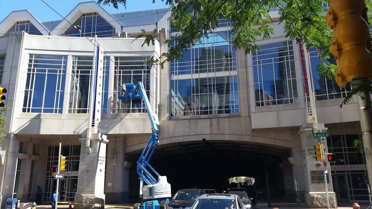 About 1,000 light fixtures have been replaced at the Pennsylvania Convention Center. The move is expected to generate about $60,000 in annual savings.