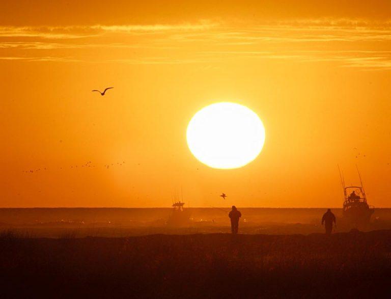 Sunrise in Barnegat Light by JSHN contributor Lance Schnatterly.