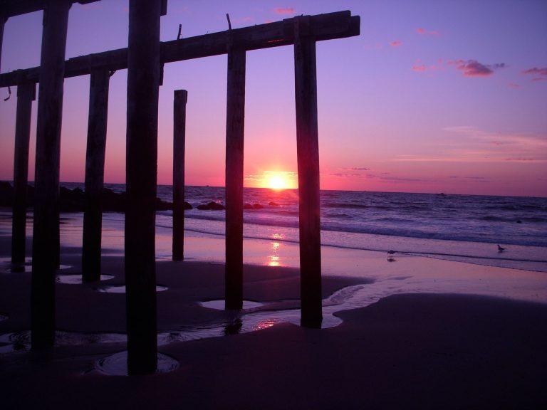 Today's sunrise in Ocean Grove by Daniel Tito. (Via Jersey Shore Hurricane News)