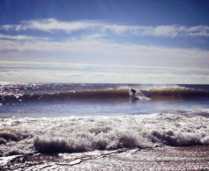 This morning in South Seaside Park. (Justin Auciello/Jersey Shore Hurricane News)