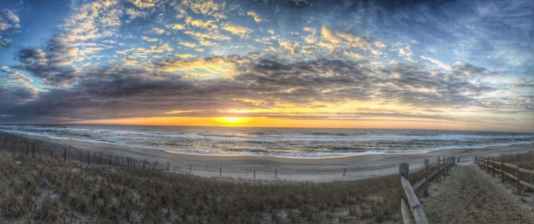 Today's sunrise in Surf City by JSHN contributor Phil Chillemi.