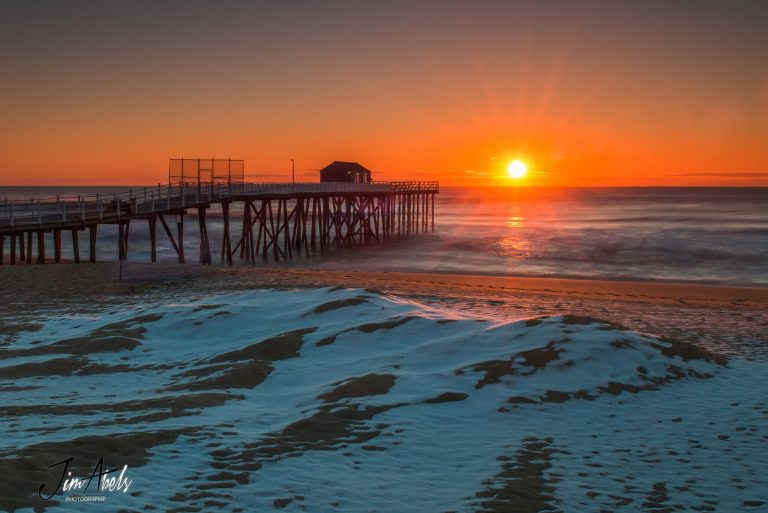 Today's sunrise in Belmar by JSHN contributor Jim Abels‎.