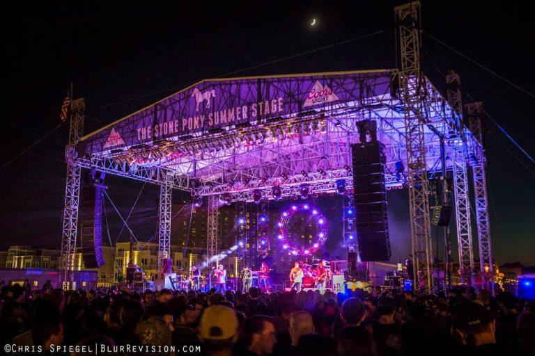 The Stone Pony Summer Stage in Asbury Park. (Photo: Chris Spiegel/Blur Revision Media Design)