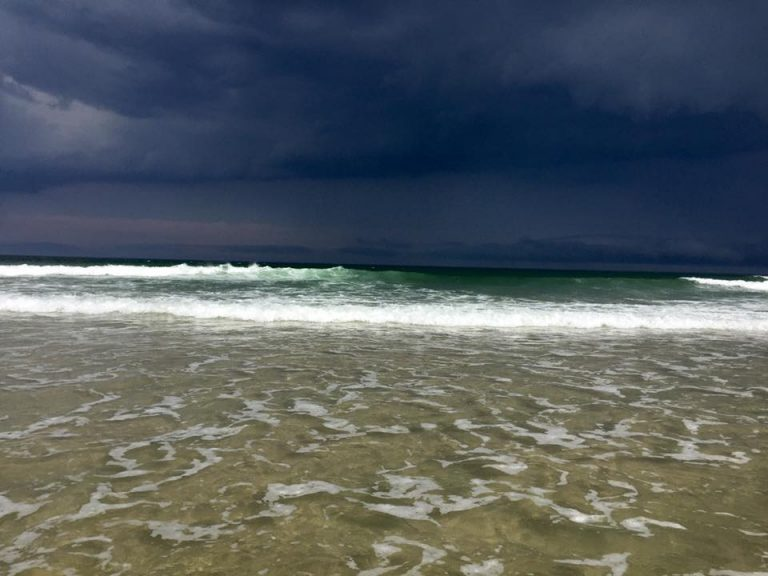 Stormy skies over Island Beach State Park earlier this month by JSHN contributor Gina M. Marksbury.