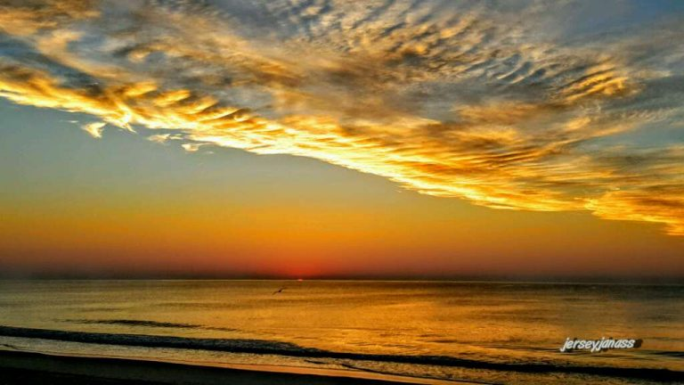 Today's sunrise in Ortley Beach by JSHN contributor Janice Napoliello Murray.
