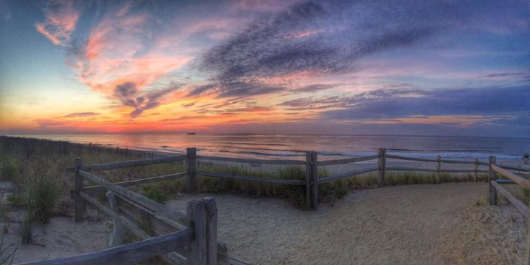 Before sunrise today in Surf City by JSHN Contributor Phil Chillemi.