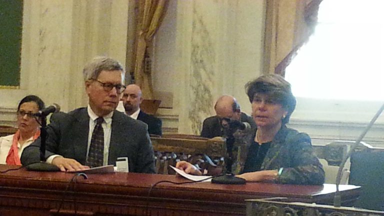 Philadelphia Treasurer Nancy Winkler and husband John Bryan testify about loss of their daughter in Salvation Army Collapse