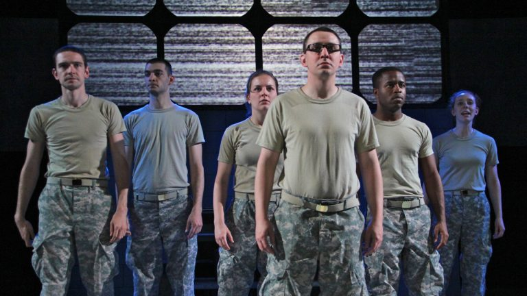 A play about former U.S. Army soldier Bradley Manning
