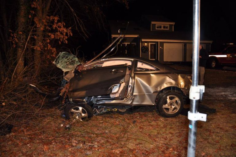 The vehicle involved in the fatal Saturday morning crash in Toms River. (Photo: Toms River Police Department)