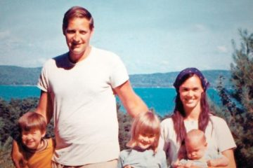 John and Bonnie Raines with their children.  They were key members of the