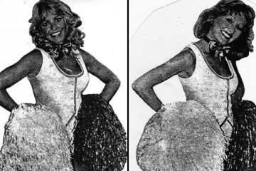 Images of Cheryl Frey (left) and Beth Treston, stage name of Marybeth Hagan, circa 1979, from 'The Evening Bulletin,' a popular Philadelphia newspaper back in the day.(Images courtesy of Marybeth Hagan)