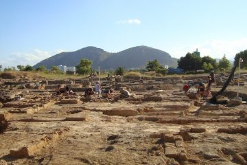 The excavation site in Mallorca. (Photo courtesy of Addie McKenzie)
