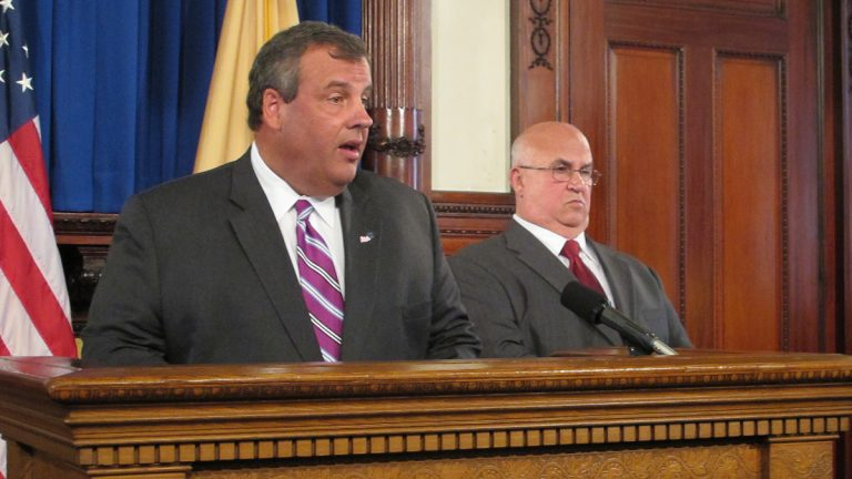 New Jersey Governor Christie nominates Judge Faustino Fernandez-Vina to the state Supreme Court.  (Phil Gregory/for NewsWorks)