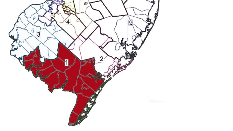 This legislative district covers all of Cape May County, eastern Cumberland County and a small part of Atlantic County.