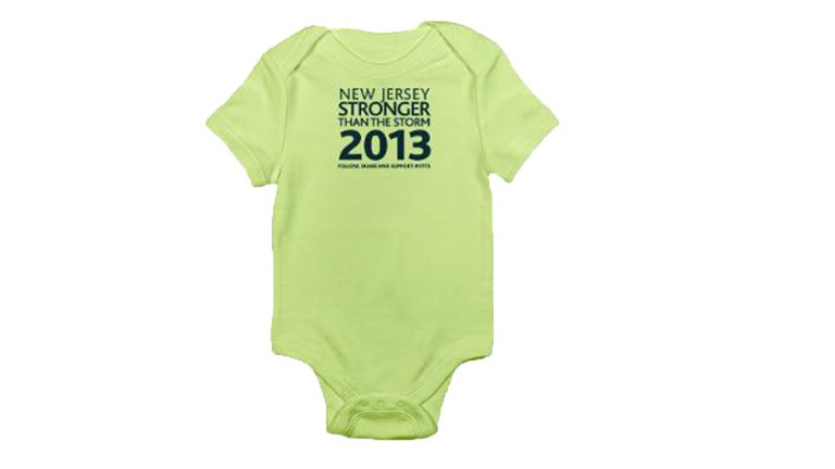 Part of the STTS campaign included merchandise like this onesiefor $14. (Image from STTS website)