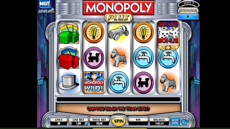 A screen capture of an online slots game. (Image via tropicanacasino.com)