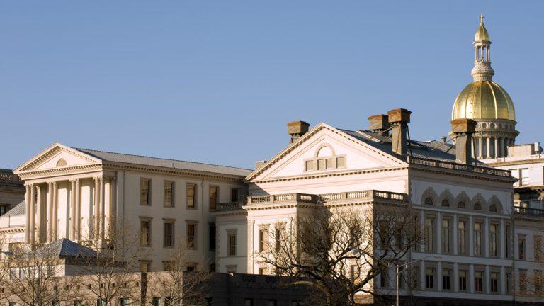 Trenton state Capitol building. (Shutterstock)