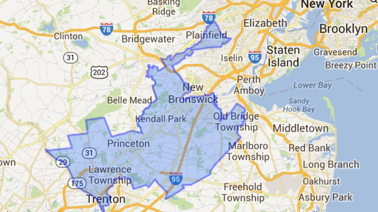 The 12th Congressional District in New Jersey