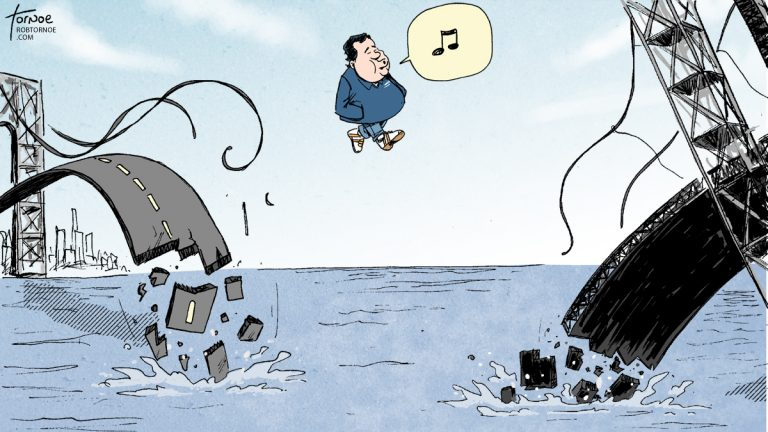 (Cartoon by Rob Tornoe)